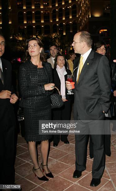HSH Prince Albert II and Princess Caroline of Hanover