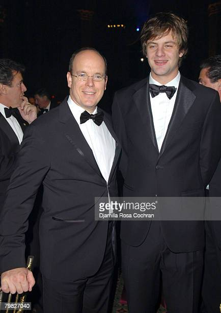 HSH Prince Albert II of Monaco and HRH Prince Ernst August of Hanover