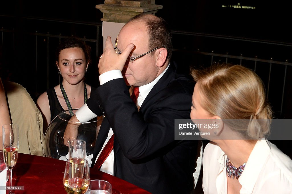 <a gi-track='captionPersonalityLinkClicked' href=/galleries/search?phrase=Prince+Albert+II+of+Monaco&family=editorial&specificpeople=201707 ng-click='$event.stopPropagation()'>Prince Albert II of Monaco</a> and <a gi-track='captionPersonalityLinkClicked' href=/galleries/search?phrase=Ornella+Muti&family=editorial&specificpeople=208764 ng-click='$event.stopPropagation()'>Ornella Muti</a> attend Taormina Filmfest and Prince Albert II Of Monaco Foundation Gala Dinner at on June 16, 2013 in Taormina, Italy.