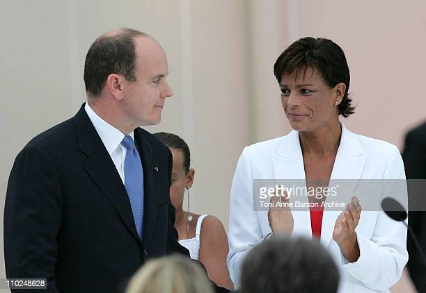 HSH Prince Albert II of Monaco and Princess Stephanie of Monaco