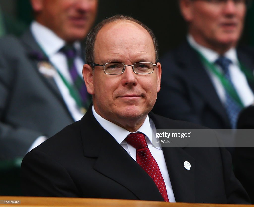 <a gi-track='captionPersonalityLinkClicked' href=/galleries/search?phrase=Prince+Albert+II+of+Monaco&family=editorial&specificpeople=201707 ng-click='$event.stopPropagation()'>Prince Albert II of Monaco</a> attend day nine of the Wimbledon Lawn Tennis Championships at the All England Lawn Tennis and Croquet Club on July 8, 2015 in London, England.