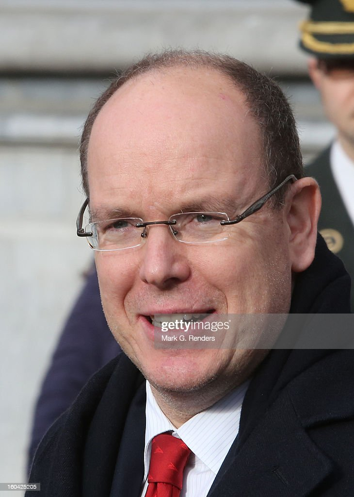 Prince Albert II of Monaco attends the 1st Interdisciplanary Congress On Sustainable Development at the Palais des Congres on January 31, 2013 in Namur, Belgium. Topics expected to be covered at the two-day conference, on January 31 and February 1, 2013, include food and agriculture, land use, planning and housing.