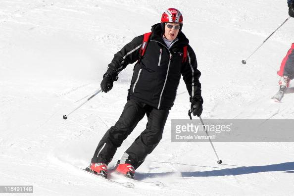 Prince Albert II of Monaco attends the 3rd World on February 9 2008 in Val GardenaGroeden Italy