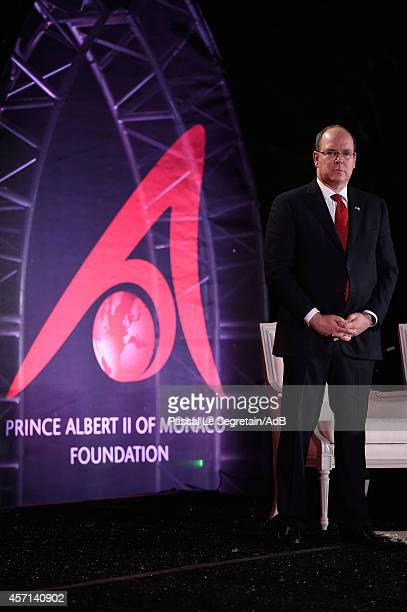 Prince Albert II of Monaco attends the 'Prince Albert II of Monaco's Foundation' Award Ceremony on October 12 2014 in Palm Springs California