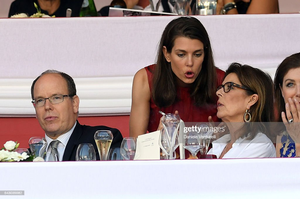 <a gi-track='captionPersonalityLinkClicked' href=/galleries/search?phrase=Prince+Albert+II+of+Monaco&family=editorial&specificpeople=201707 ng-click='$event.stopPropagation()'>Prince Albert II of Monaco</a>, <a gi-track='captionPersonalityLinkClicked' href=/galleries/search?phrase=Charlotte+Casiraghi&family=editorial&specificpeople=206874 ng-click='$event.stopPropagation()'>Charlotte Casiraghi</a> and Princess Caroline of Hanover attend Longines Global Champions Tour of Monaco on June 24, 2016 in Monaco, Monaco.