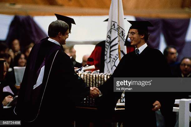 Prince Albert II of Monaco graduates with a degree in Political Science from Amherst College   Location Amherst Massasuchetts