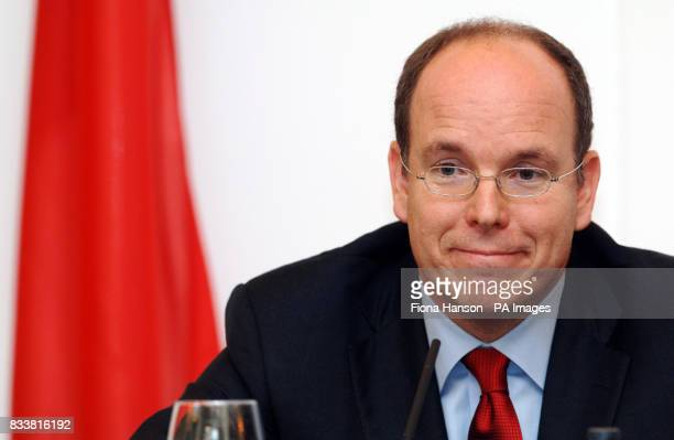 Prince Albert II of Monaco launches the UK branch of the charitable Prince Albert II of Monaco Foundation which aims to tackle climate change...