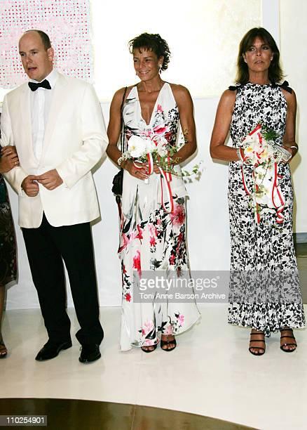 HSH Prince Albert II of Monaco Princess Stephanie of Monaco and Princess Caroline of Hanover