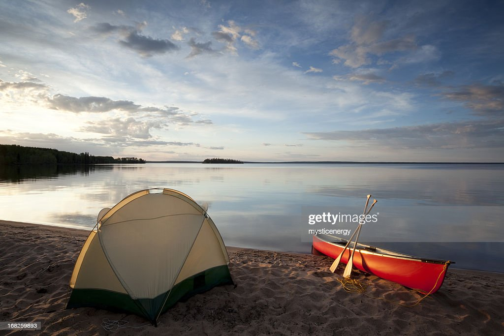 Prince Albert National Park Saskatchewan : Stock Photo