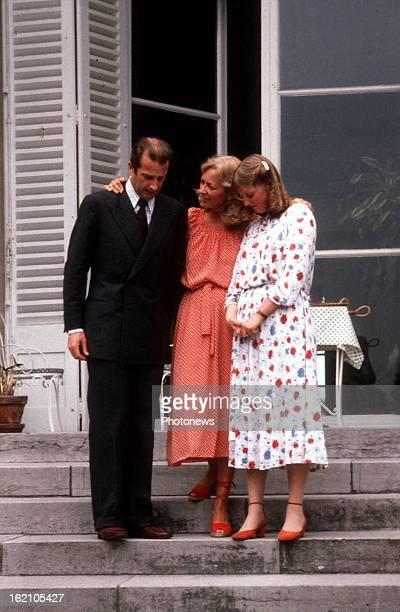 Prince Albert of Belgium Princess Paola and Princess Astrid