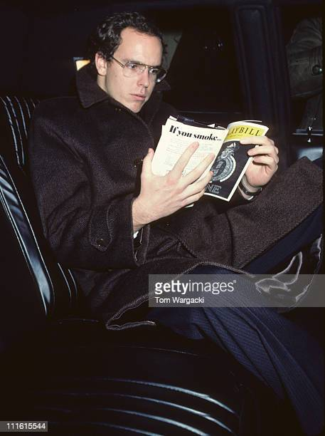 Prince Albert of Monaco during Prince Albert at 'Nine' at New York in New York United States