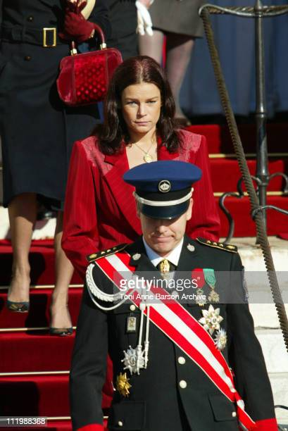 HSH Prince Albert of Monaco HSH Princess Stephanie of Monaco