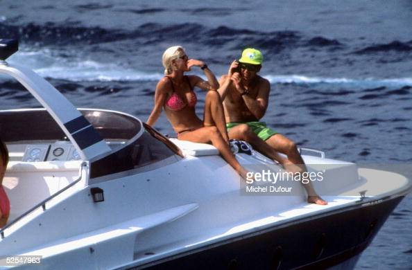 Prince Albert of Monaco is seen on his boat on holiday in 1994 in St Tropez With the deteriorating health of his father Prince Rainier Prince Albert...