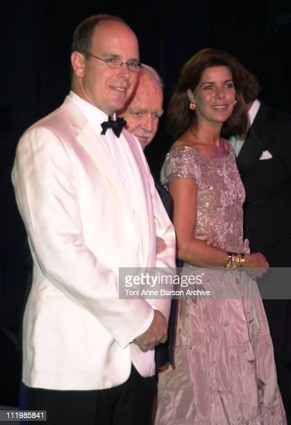 Prince Albert of Monaco Prince Rainier Princess Caroline of Hanover