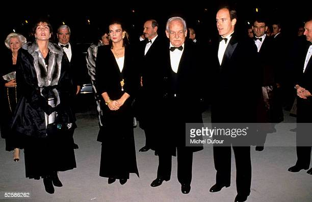 Prince Albert of Monaco with Prince Rainier Princess Stephanie and Princess Caroline in Monaco in 1999 With the deteriorating health of his father...
