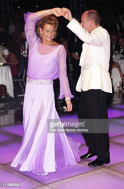 HSH Prince Albert opens the Ball with his sister HSH Princess Stephanie of Monaco