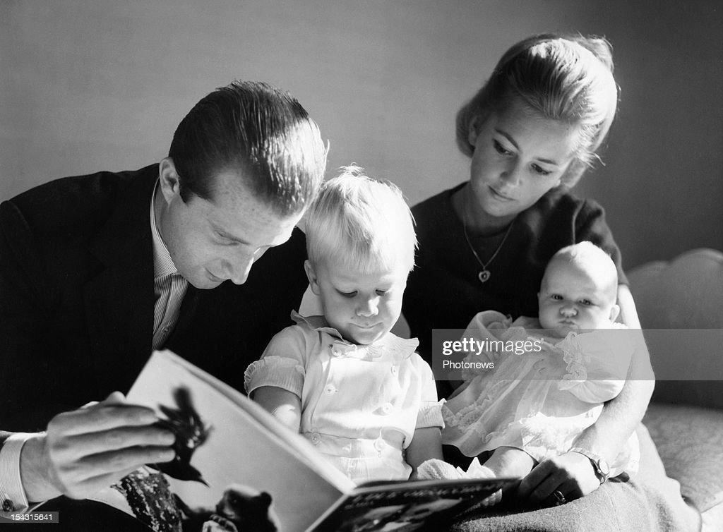 Prince Albert, Princess Paola, Prince Philippe and Princess Astrid of Belgium