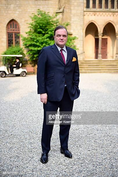 Prince Alexander zu SchaumburgLippe attends the official opening of the 'Der Weg zur Krone Das Koenigreich Hannover und seine Herrscher' exhibition...