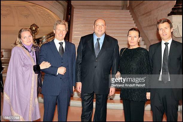 Prince Alexandre and Princesse Astrid De Liechtenstein Pascal Renouard De Valliere Princesse Isabelle De Liechtenstein and Prince Wenceslas De...