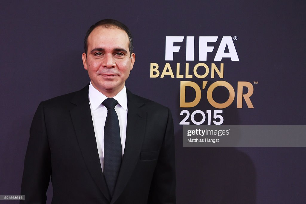 Prince Ali bin Hussein of Jordan attends the FIFA Ballon d'Or Gala 2015 at the Kongresshaus on January 11 2016 in Zurich Switzerland