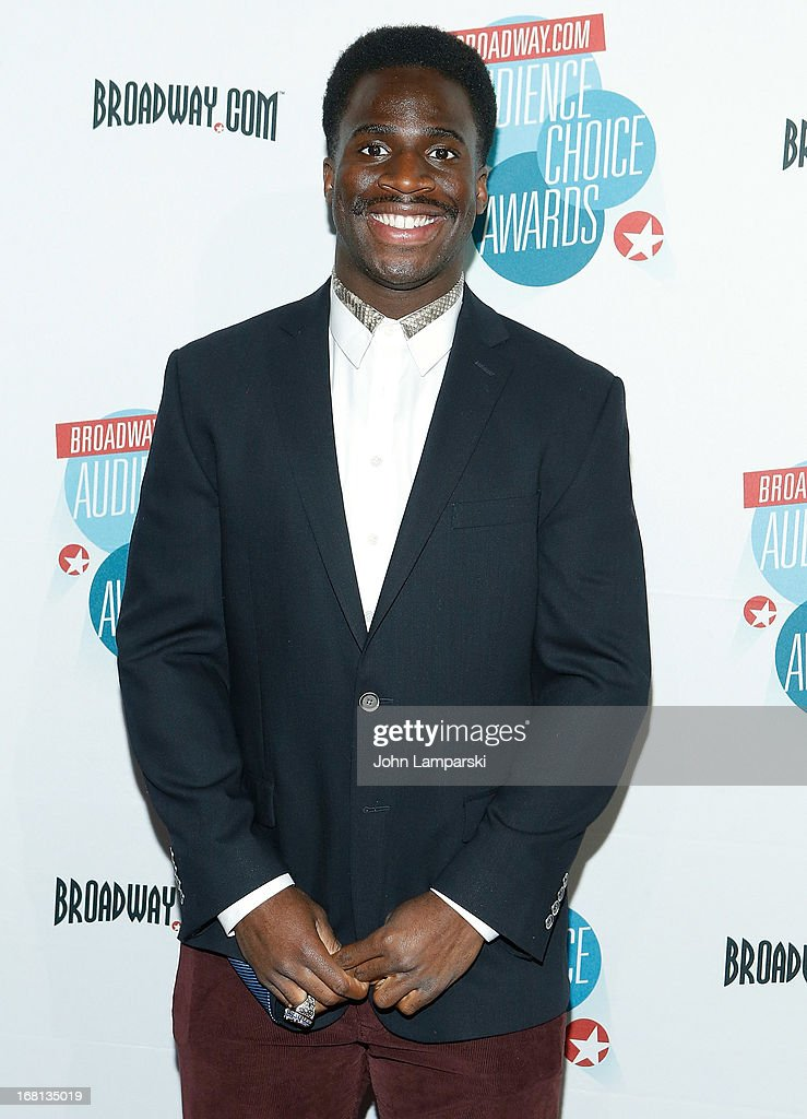 <a gi-track='captionPersonalityLinkClicked' href=/galleries/search?phrase=Prince+Amukamara&family=editorial&specificpeople=6357867 ng-click='$event.stopPropagation()'>Prince Amukamara</a> attends The 2013 Broadway.com Audience Choice Awards at Jazz at Lincoln Center on May 5, 2013 in New York City.