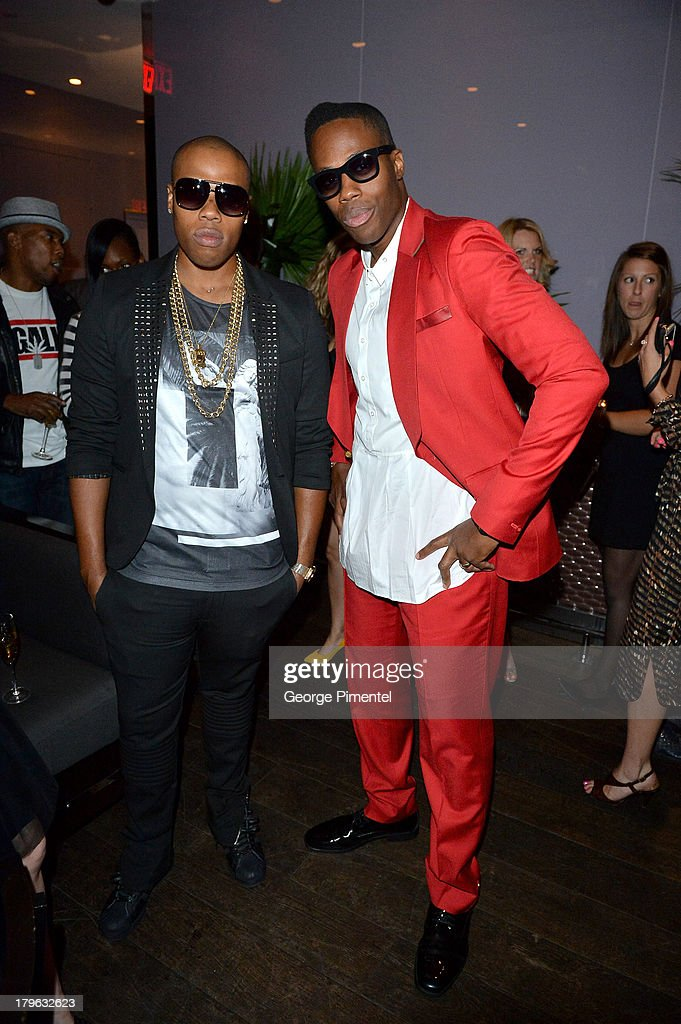Prince and Kardinal Offishall attends the Interview Magazine, Sundance Selects and Mongrel Media celebrate the TIFF premiere screening of 'Blue is the Warmest Color' during 2013 Toronto International Film Festival on September 5, 2013 in Toronto, Canada.