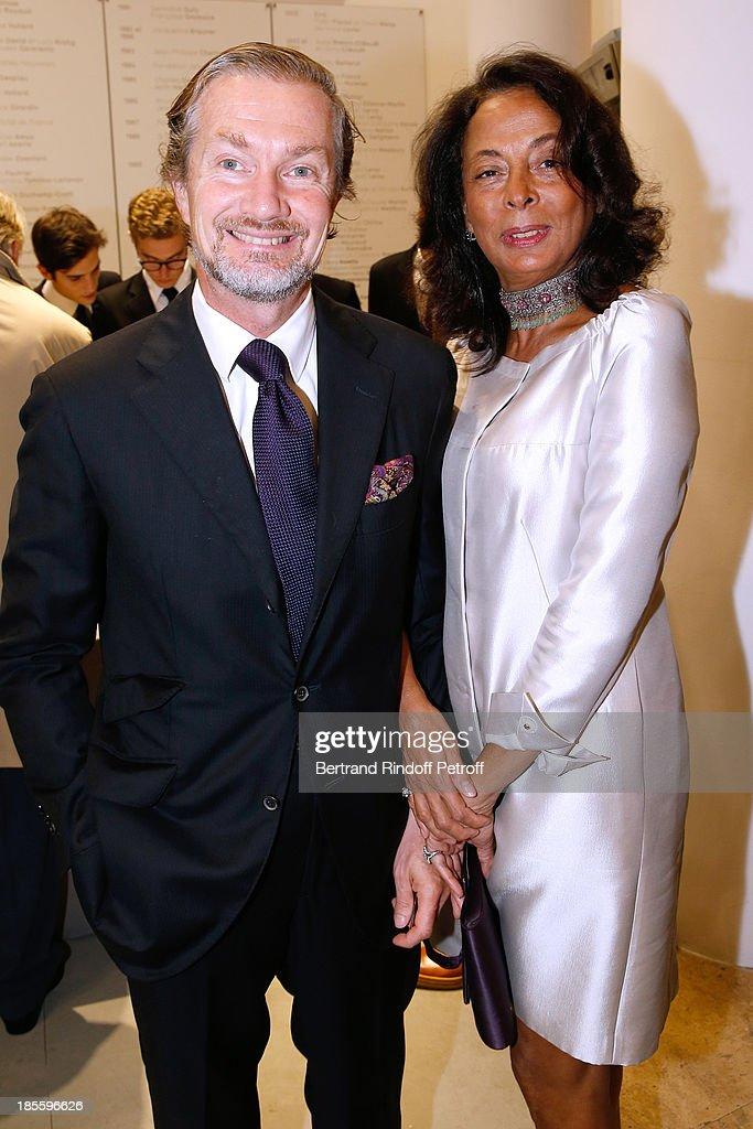 Prince and Princess Louis Albert de Broglie attend the dinner of the friends of the 'Musee d'Art Moderne de la ville de Paris' on October 22, 2013 in Paris, France.