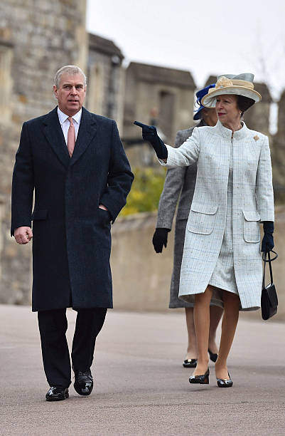 Royal Family Attend Easter Sunday Service At Windsor ...