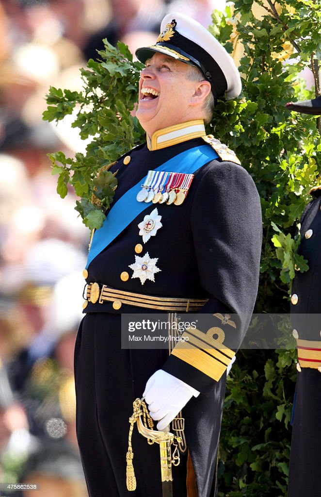 Prince Andrew, Duke of York takes the salute during the annual Founder's Day Parade at the Royal Hospital Chelsea on June 4, 2015 in London, England.