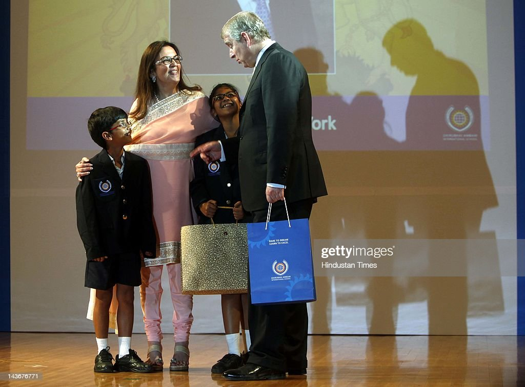 Prince Andrew, The Duke Of York Visits India