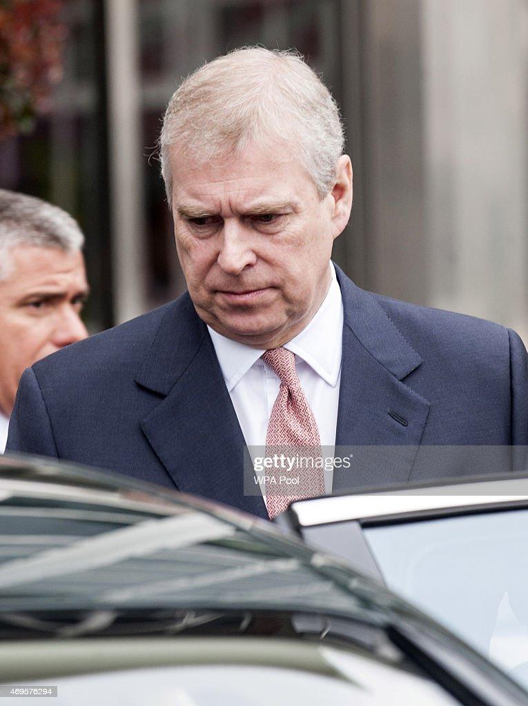 The Duke Of York Visits The Offices Of AkzoNobel