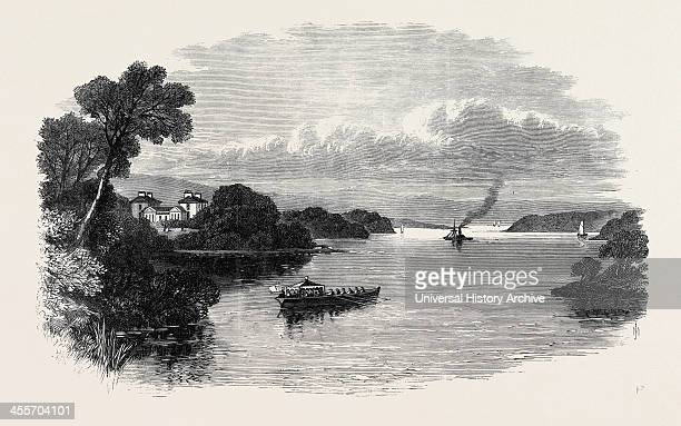 Prince Arthur's Visit To Ireland Ely Lodge Lough Erne County Fermanagh 1869