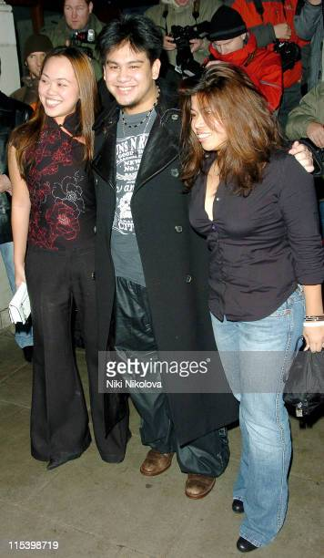 Prince Azim Of Brunei and Guest during Grand Classics 'Annie Hall' Screening December 12 2005 at The Electric Cinema in London Great Britain