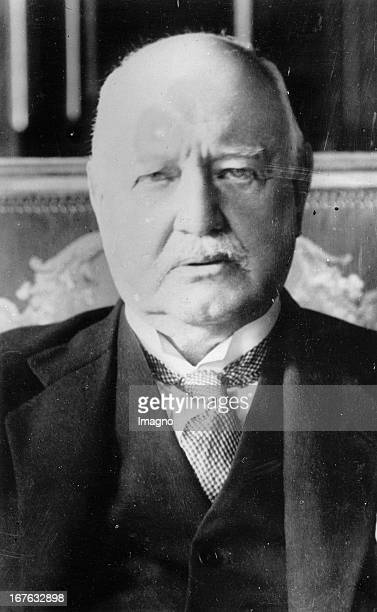 Prince Bernhard von Bulow Chancellor and Prussian Prime Minister Photograph 1929 Reichskanzler Fürst Bernhard von Bülow Reichskanzler und...