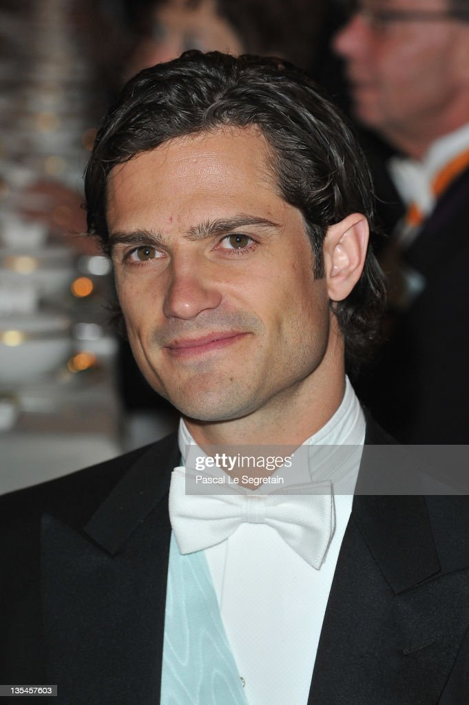 Prince Carl Philip of Sweden attends the Nobel Banquet at the City Hall on December 10, 2011 in Stockholm, Sweden.