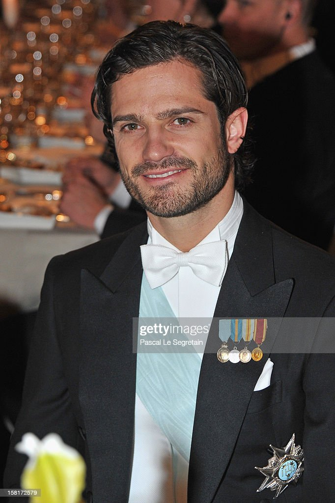 <a gi-track='captionPersonalityLinkClicked' href=/galleries/search?phrase=Prince+Carl+Philip+of+Sweden&family=editorial&specificpeople=160179 ng-click='$event.stopPropagation()'>Prince Carl Philip of Sweden</a> attends the Nobel Banquet at Town Hall on December 10, 2012 in Stockholm, Sweden.
