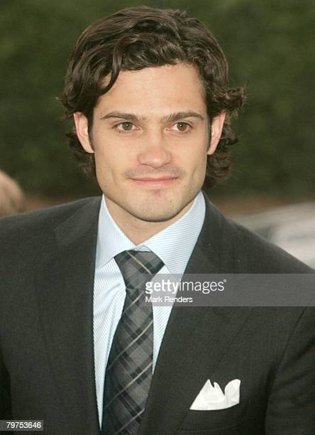 Prince Carl Philip of Sweden visits the Ion Beam Company on February 14 2008 in LouvainLaNeuve Belgium