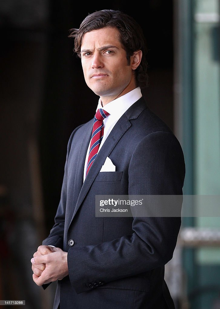 Prince Carl Philip of Sweden waits to greet Camilla, Duchess of Cornwall and Prince Charles, Prince of Wales as they arrive at Arlanda Airport on March 22, 2012 in Stockholm, Sweden. Prince Charles, Prince of Wales and Camilla, Duchess of Cornwall are on a Diamond Jubilee tour of Scandinavia that takes in Norway, Sweden and Denmark.