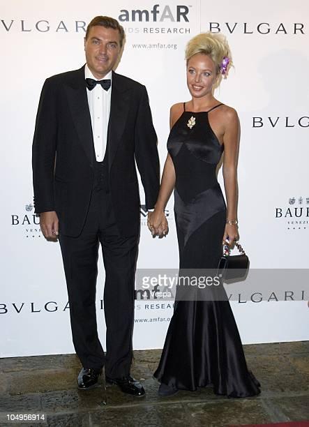 Prince Carlo of Borbone and his wife Camilla Crociani