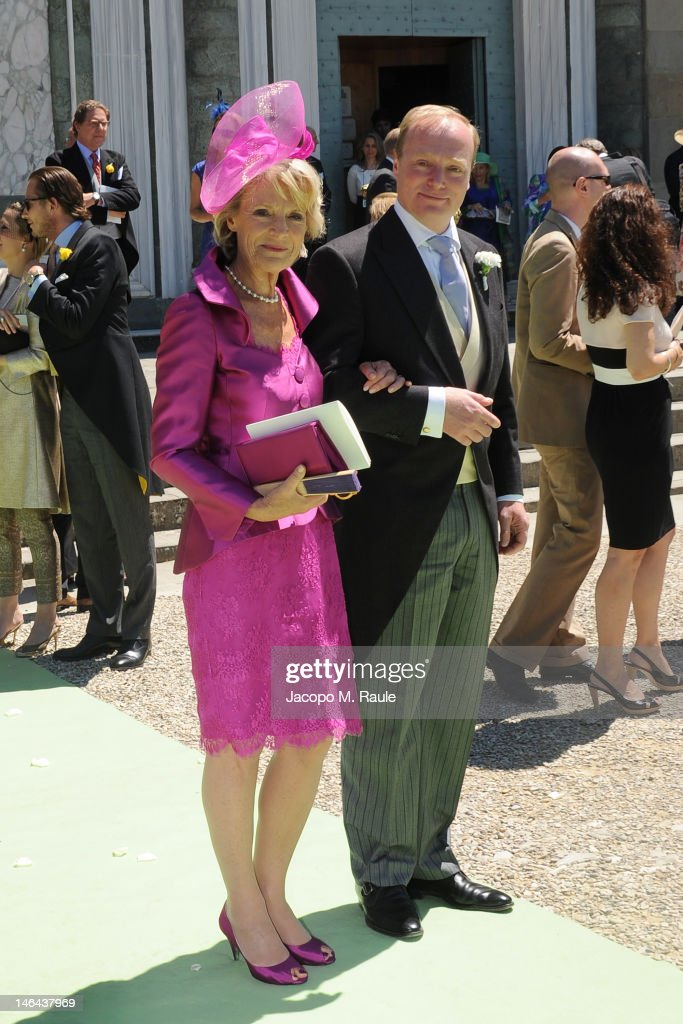 <a gi-track='captionPersonalityLinkClicked' href=/galleries/search?phrase=Prince+Carlos+of+Bourbon+Parma&family=editorial&specificpeople=1091442 ng-click='$event.stopPropagation()'>Prince Carlos of Bourbon Parma</a> (R) leave the Princess Carolina Church Wedding With Mr Albert Brenninkmeijer at Basilica di San Miniato al Monte on June 16, 2012 in Florence, Italy.
