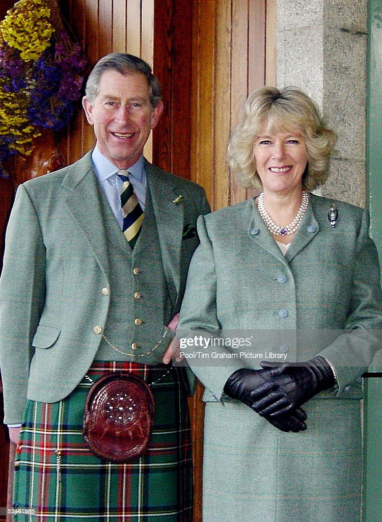 HRH Prince Charles and Camilla Parker-Bowles are seen at Birkhall in Scotland in this latest image released by Clarence House on February 10, 2005.