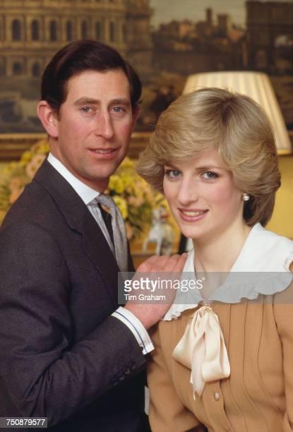 Prince Charles and Diana Princess of Wales Kensington Palace London 31st January 1983