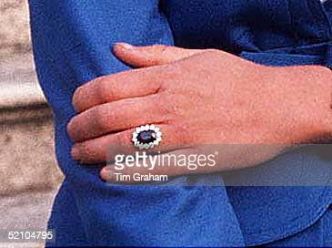 Prince Charles And Lady Diana Spencer's Engagement