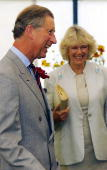 Prince Charles And Mrs Camilla Parker Bowles Walking Around The Sandringham Flower Show In Norfolk Held On The Grounds Of The Royal Estate This Is...