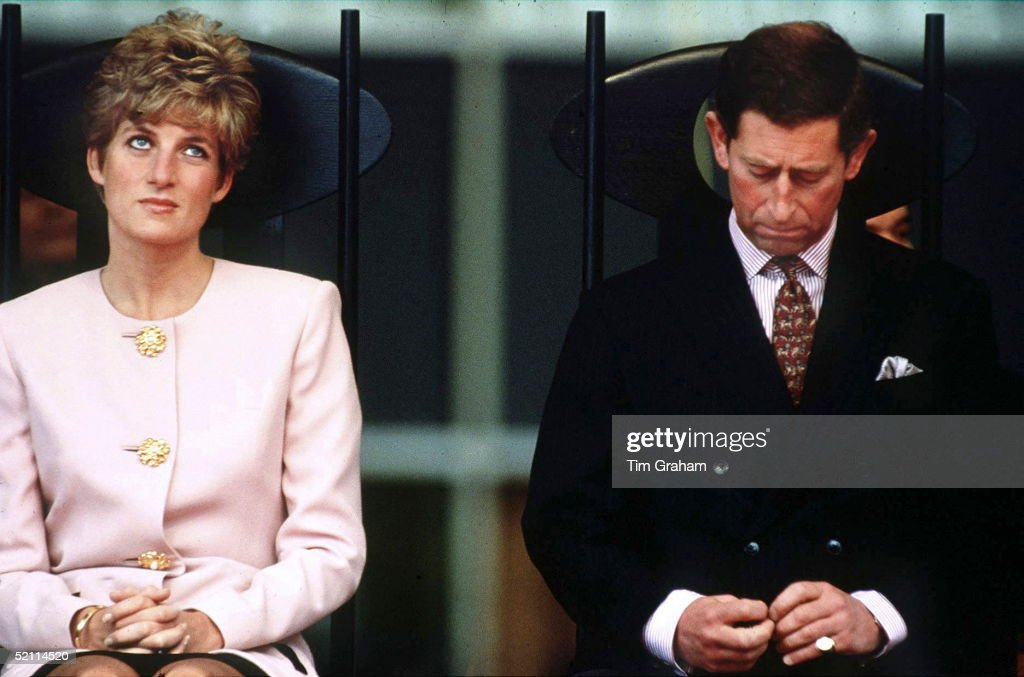 Prince Charles And Princess Diana During A Royal Tour In Toronto, Canada.