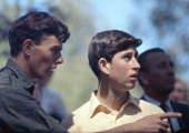 Prince Charles at the Geelong Grammar School in Australia circa February 1966 Prince Charles studied at the school for two terms between February and...