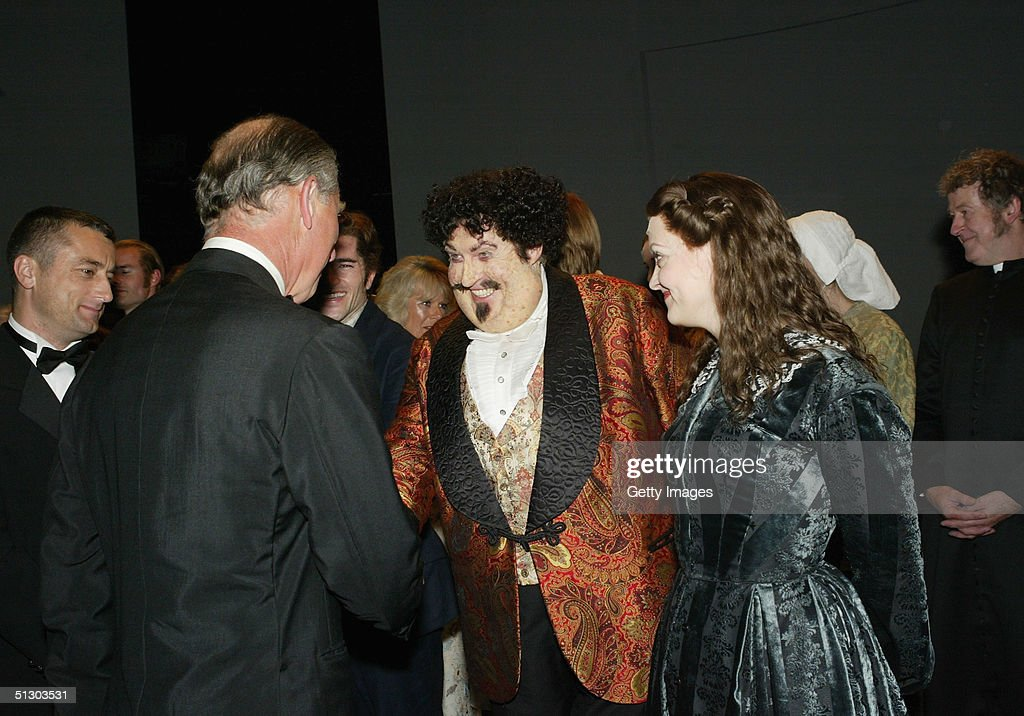 Prince Charles attends the Royal Gala Premiere of Lord Andrew Lloyd Webber's new musical 'The Woman In White' at the Palace Theatre, Shaftesbury Avenue on September 13, 2004 in London.