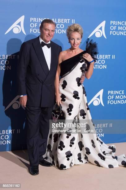 Prince Charles de Bourbon des Deux Siciles and Camilla de Bourbon des Deux Siciles attend the Inaugural 'MonteCarlo Gala For The Global Ocean'...