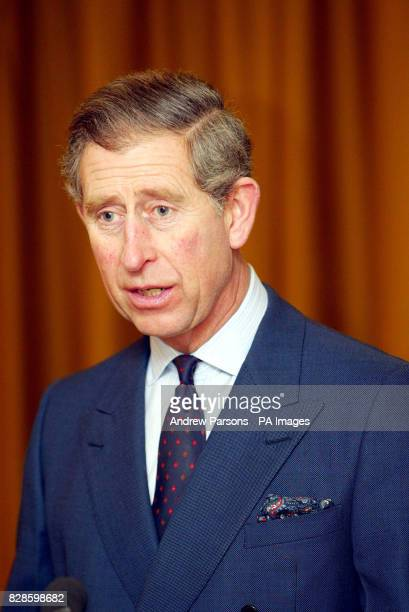 Prince Charles during his visit to the Markfield Islamic Foundation Leicestershire The royal visit will see Charles officially open a new building at...