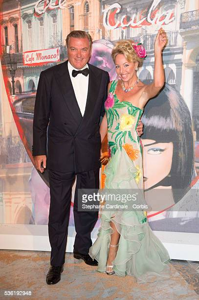 Prince Charles of Bourbon TwoSicilies and Princess Camilla of Bourbon TwoSicilies attend The 62nd Rose Ball To Benefit The Princess Grace Foundation...